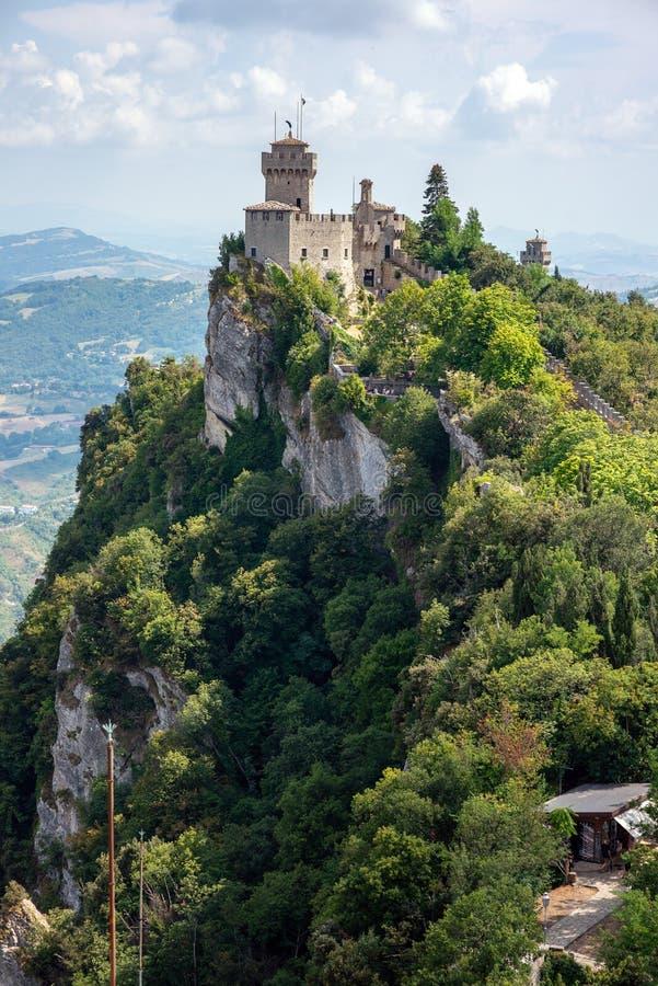 San Marino Italien arkivbilder