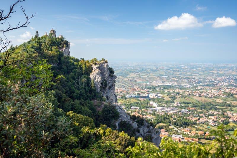 San Marino Italien arkivfoton