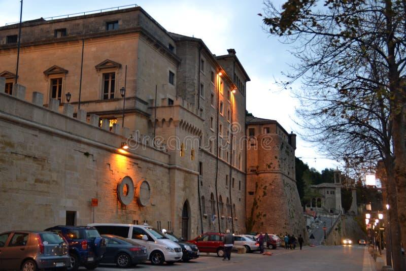 San Marino Italy image libre de droits