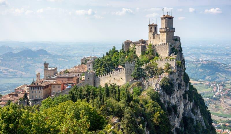 San Marino, Italy foto de stock