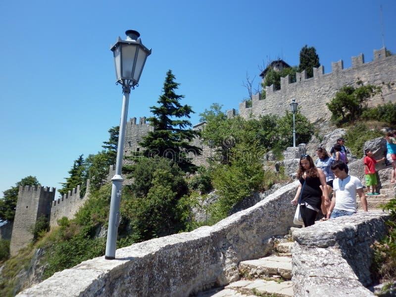 San Marino royalty free stock photography
