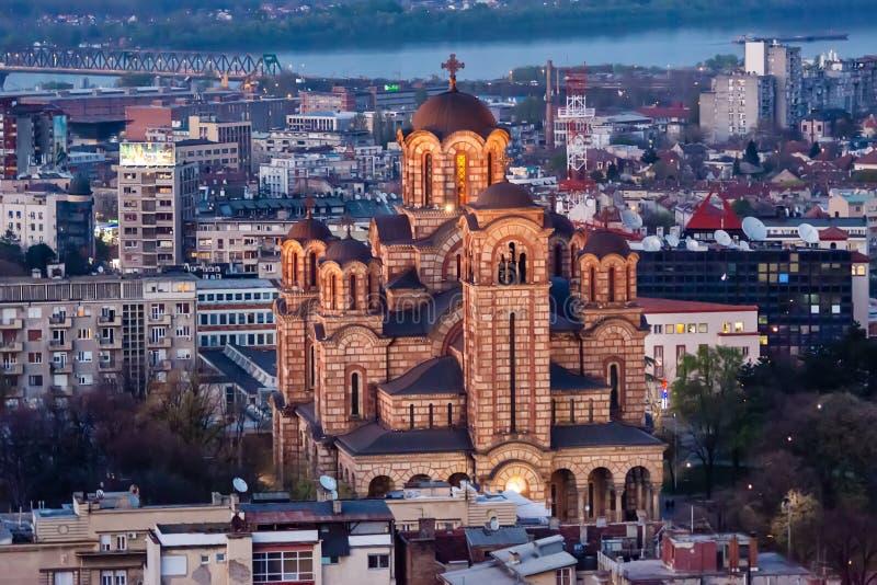 San Marko Church a Belgrado fotografia stock