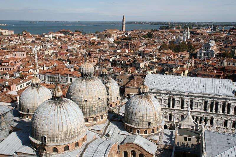 San Marko church in Venice royalty free stock photo