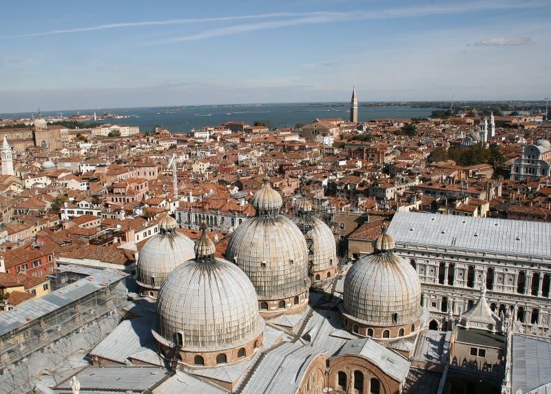 San Marko church in Venice stock photography