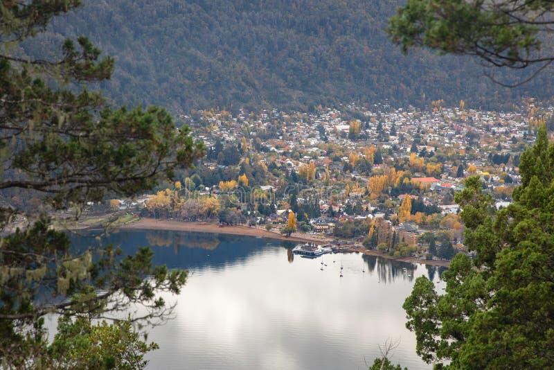 San Martin De Los Andes, Neuquen, la Argentina fotos de archivo