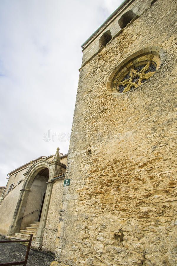 San-Martin-le-Vieil, Francia immagine stock libera da diritti