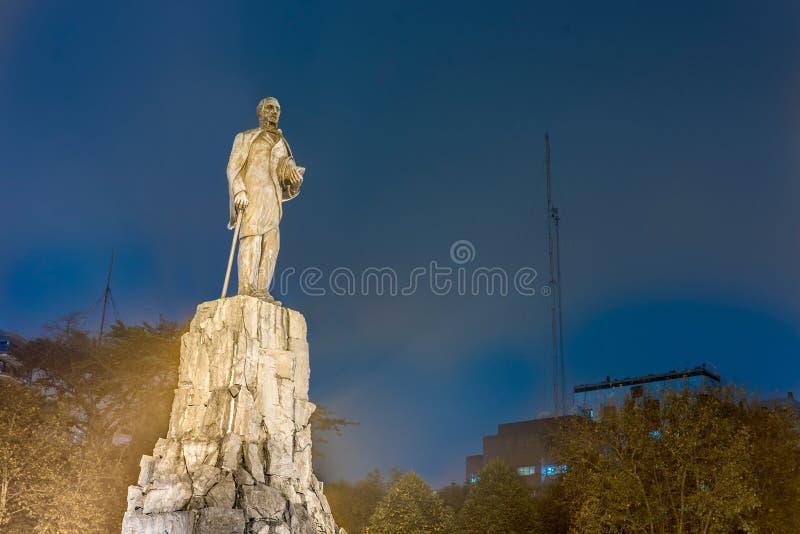 San Martin Monument em março del Plata, Argentina imagens de stock royalty free