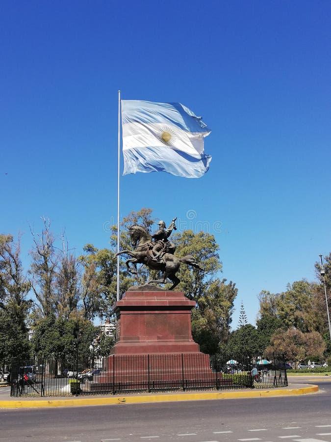 San Martin-monument in Rosario royalty-vrije stock foto