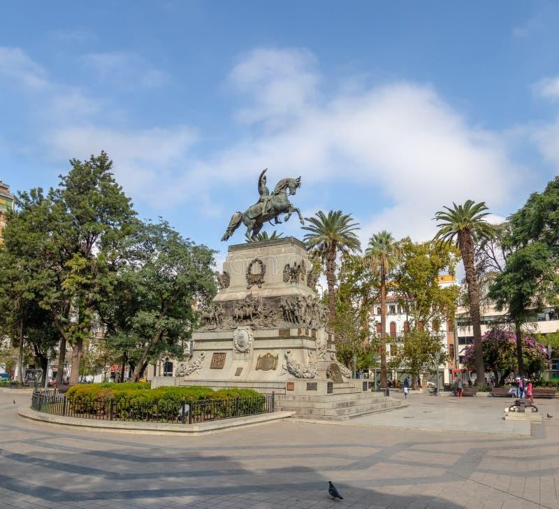 San Martin Square - Cordoba, Argentinië stock foto's