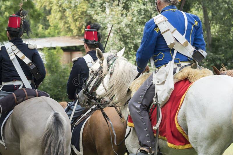 San Martino Della Battaglia BS, Italien am 24. Juni 2018 Gedenken des Kampfes von Solferino und von San Martino 1859 lizenzfreies stockbild