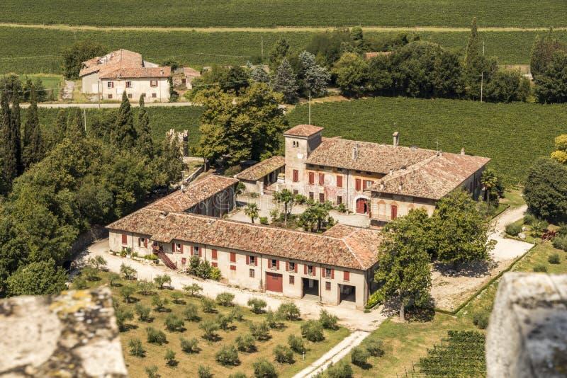 San Martino della Battaglia, Italien arkivbilder