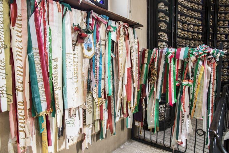 San Martino della Battaglia ossuary royaltyfri fotografi