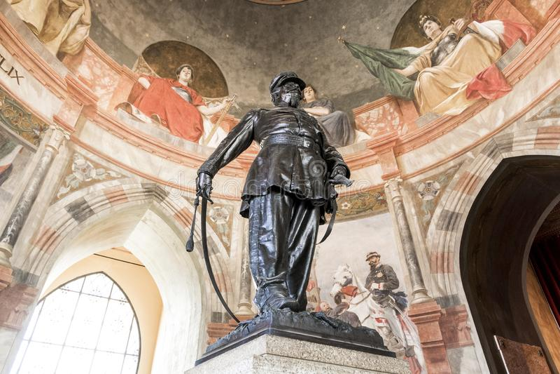 San Martino della Battaglia torn, Italien royaltyfria foton