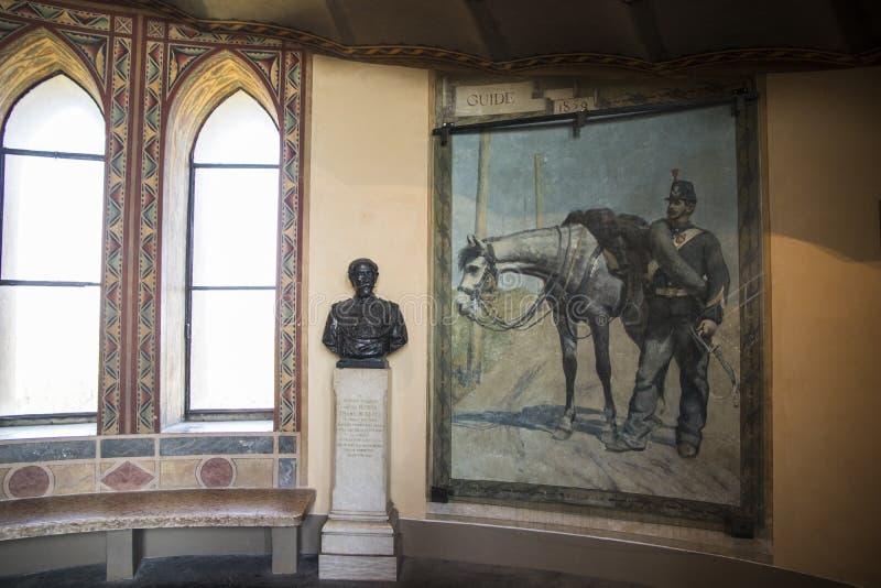 San Martino della Battaglia torn, Italien royaltyfri foto