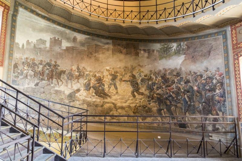 San Martino della Battaglia torn, Italien royaltyfria bilder