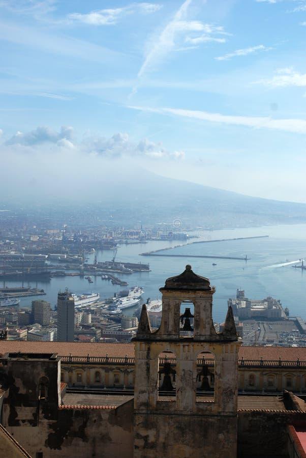 San Martino et Naples image libre de droits