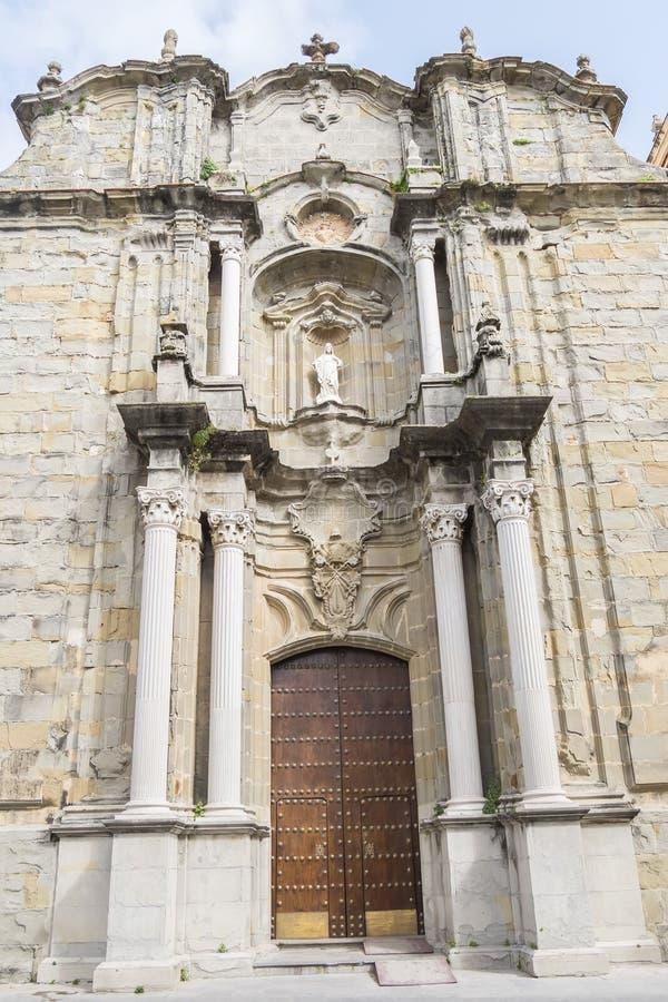 San Mateo Church, Tarifa, Cadiz Spanien lizenzfreies stockbild
