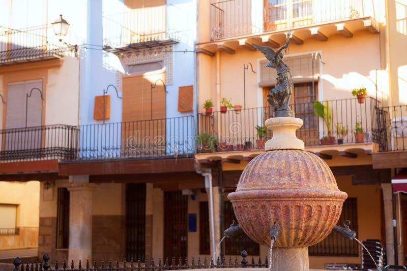 San Mateo Mateu sant de Montesa in Castellon fotografia stock