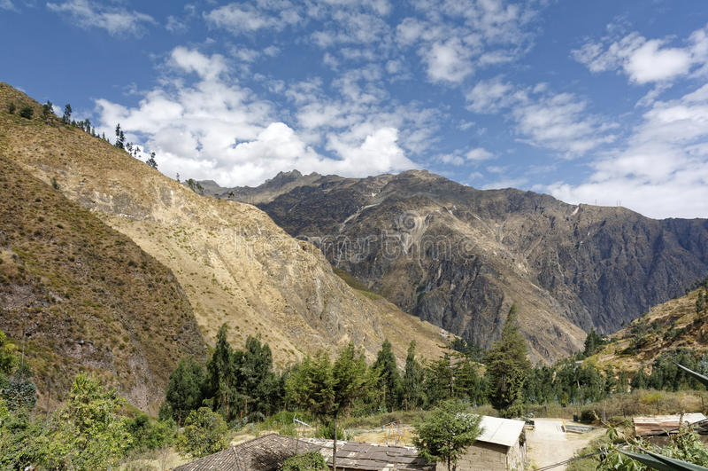 San Mateo, Perù fotografia stock