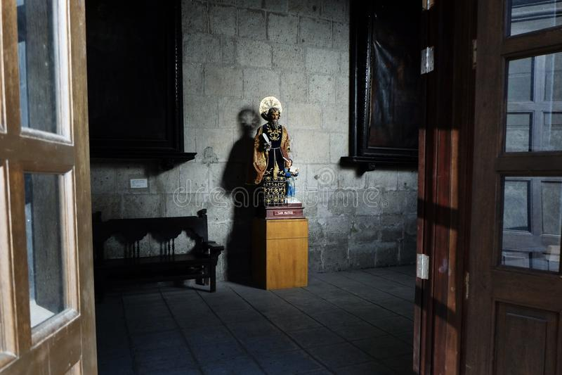San Mateo Statue imagenes de archivo