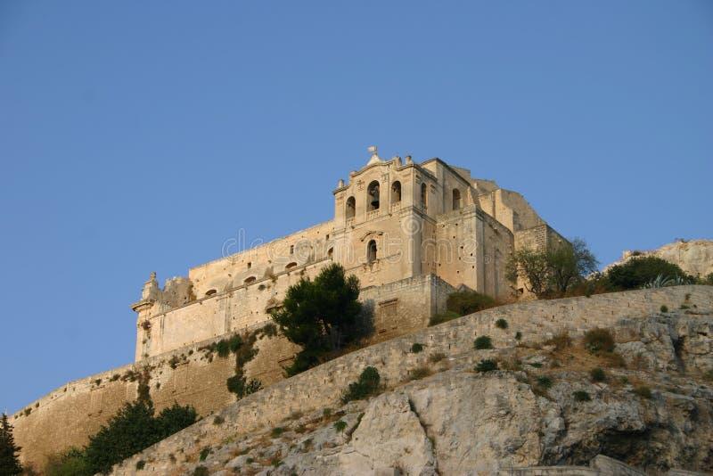 San Matteo church in Scicli stock image
