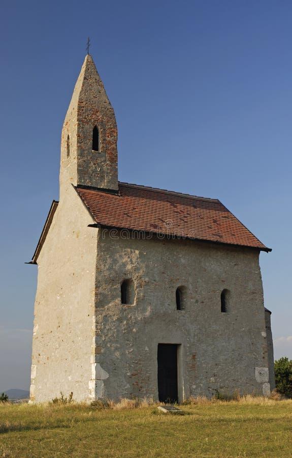 San Michael della chiesa di Romanesque fotografie stock libere da diritti