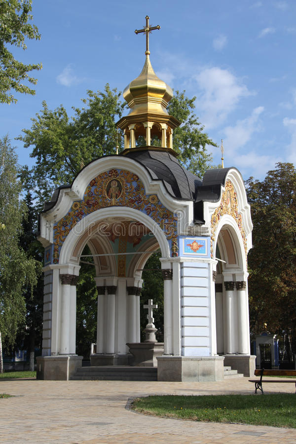 San Michaels Golden Domed Monastery fotografie stock libere da diritti