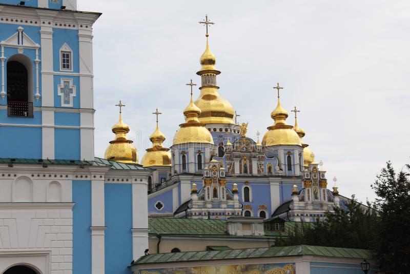 San Michaels Golden Domed Monastery fotografia stock libera da diritti