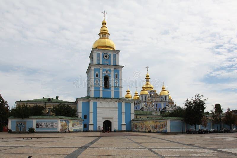 San Michaels Golden Domed Monastery immagini stock libere da diritti
