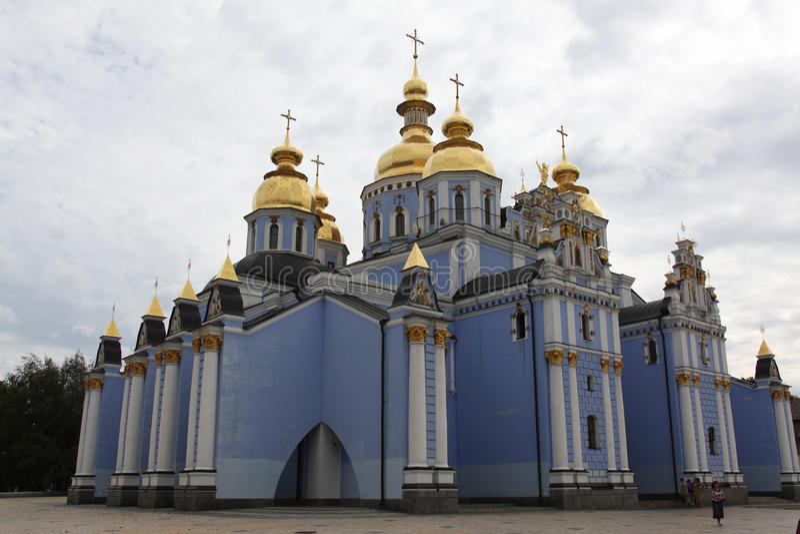 San Michaels Golden Domed Monastery immagine stock