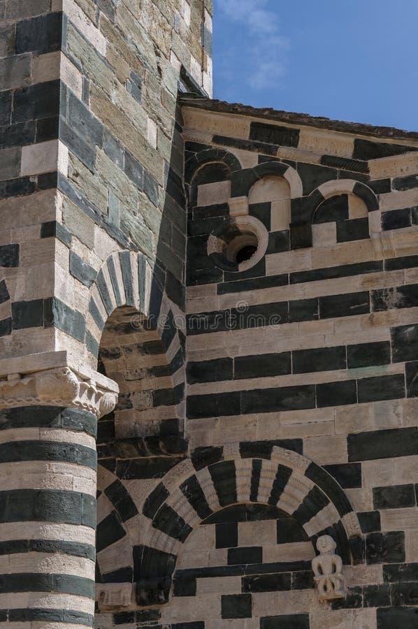 San Michele de Murato, église, Murato, Haute-Corse, Corse, France, île, l'Europe photo libre de droits