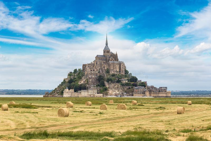 San Michele, Francia di Mont fotografia stock