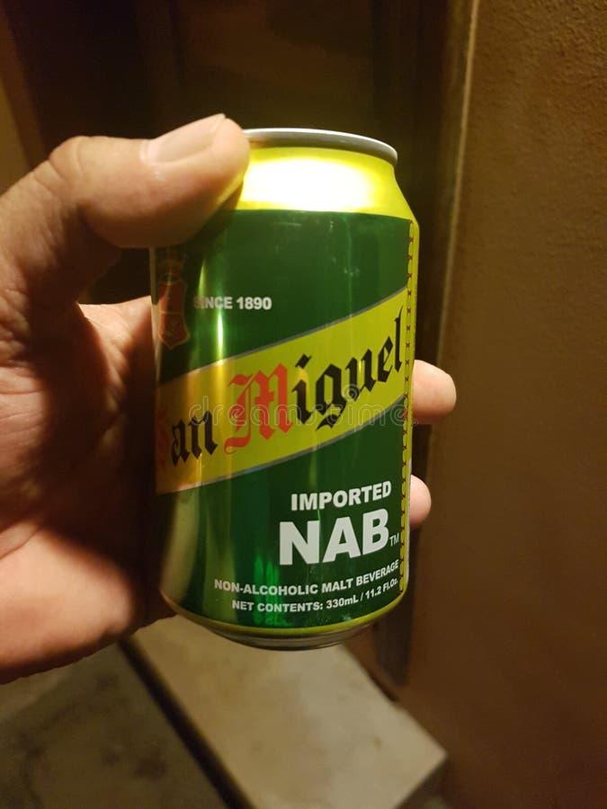 San Miguel beer in Saudi stock images