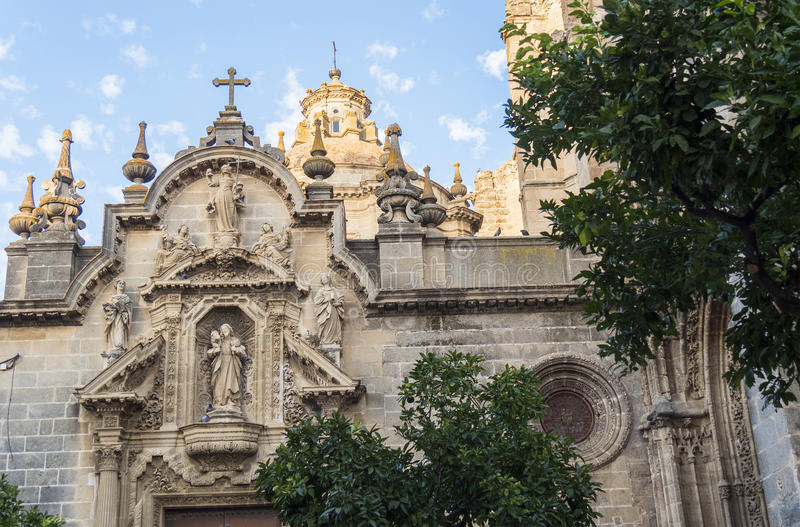 San Miguel church, Jerez de la Frontera, Spain.  royalty free stock photography