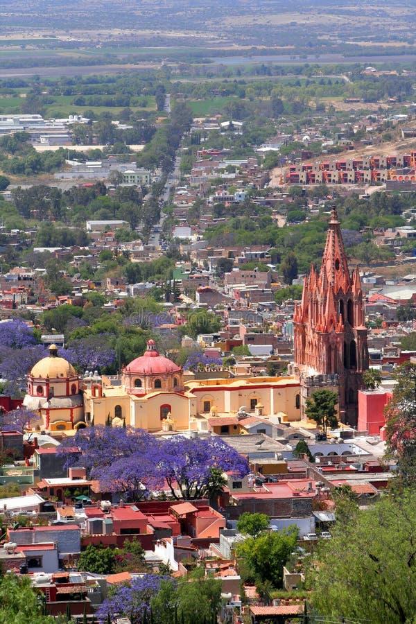 San Miguel de Allende foto de stock