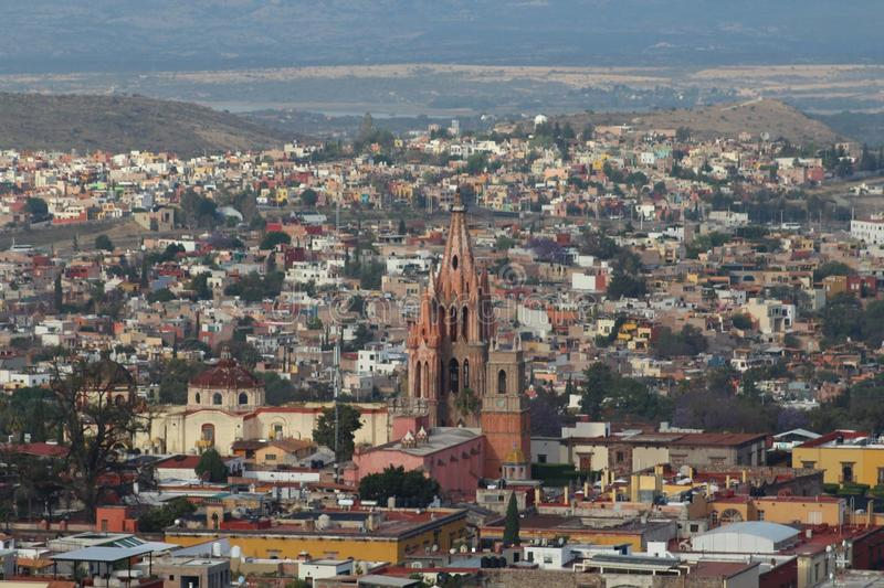 San Miguel de Allende lizenzfreie stockbilder