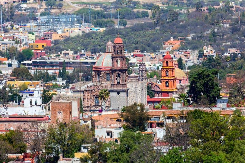 San Miguel de Allende fotografia de stock