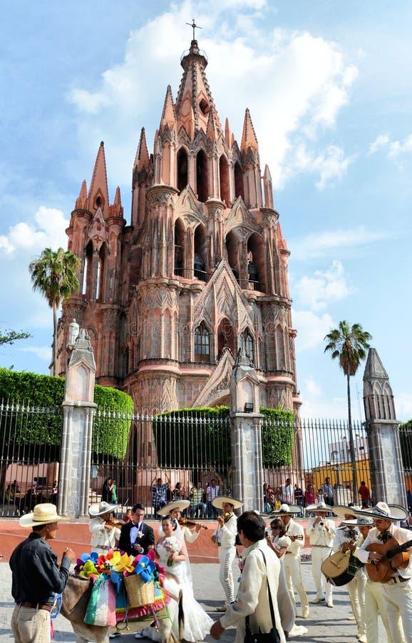 San Miguel de Allende lizenzfreies stockbild