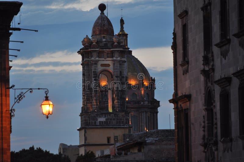 San Miguel de Allende Church images stock