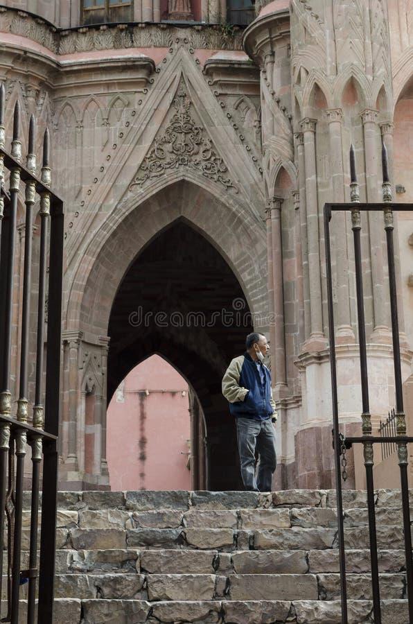 San Miguel de Allende, Guanajuato, México imagen de archivo
