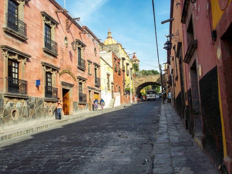 San Miguel de Allende, México imagem de stock