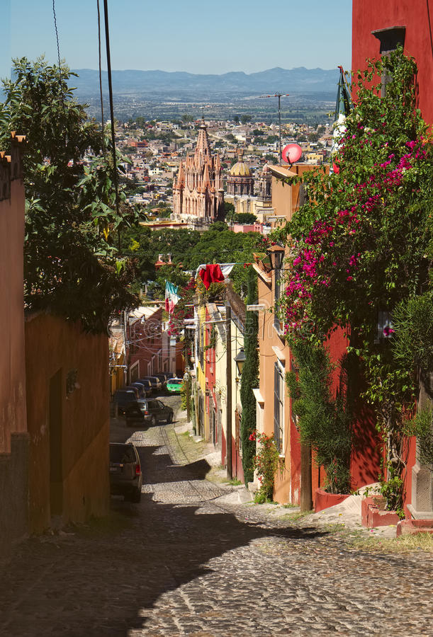 San Miguel de Allende, Mexique images stock