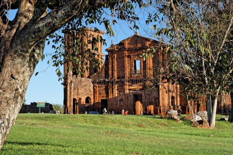 San Miguel de la catedral de las misiones fotos de archivo