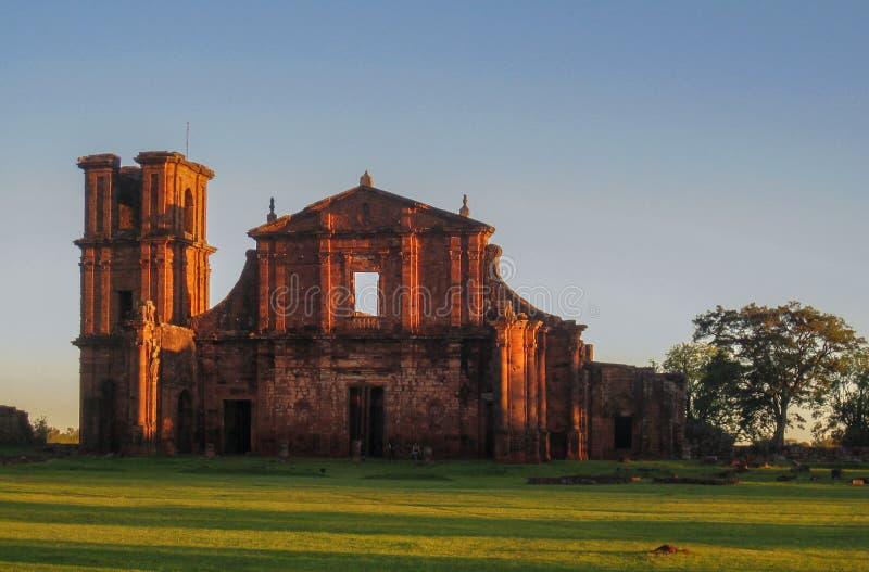San Miguel de la catedral de las misiones fotografía de archivo