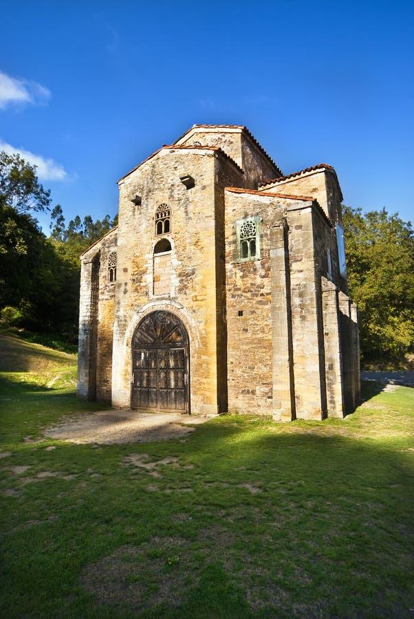 San Miguel de Lillo Oviedo Spain. San Miguel de Lillo Oviedo stock image