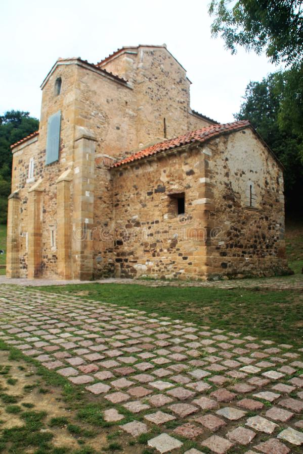 San Miguel de Lillo, Oviedo ( Spain ) stock photo