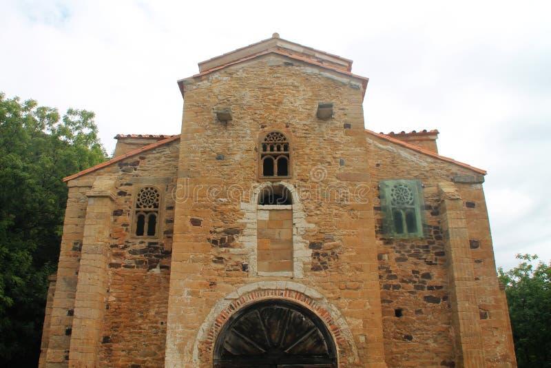 San Miguel de Lillo, Oviedo ( Spain ) royalty free stock image