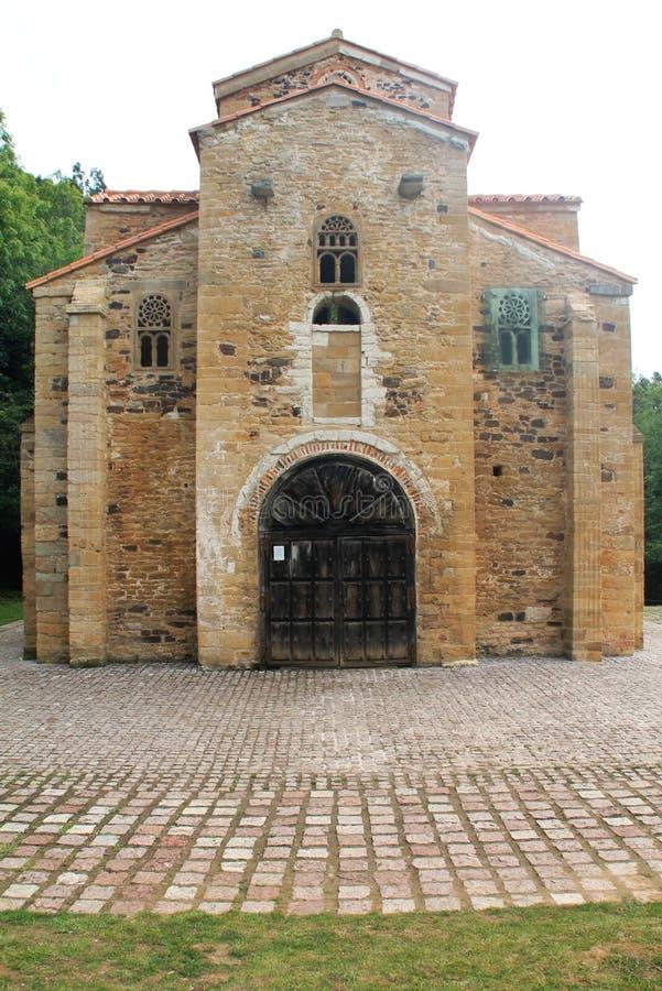 San Miguel de Lillo, Oviedo ( Spain ) royalty free stock photo