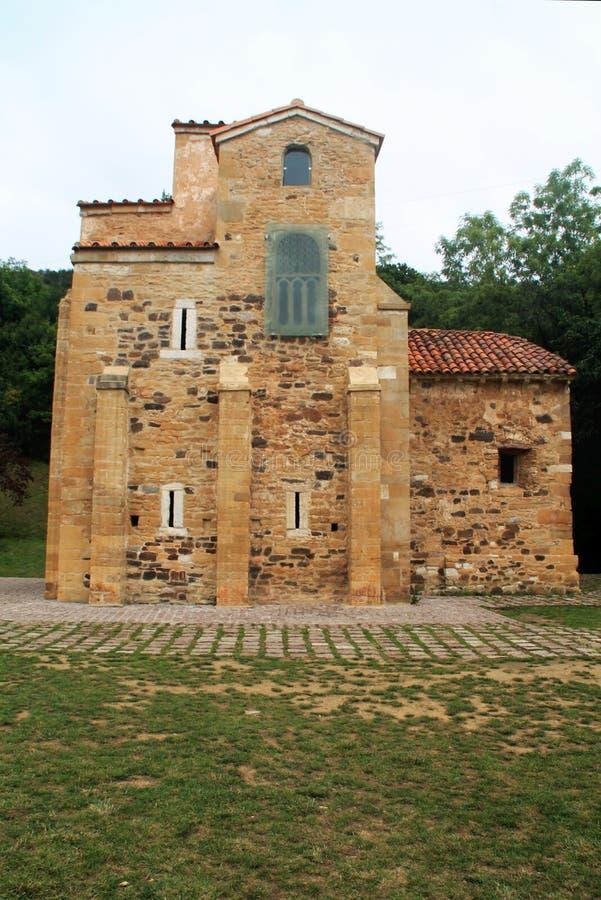 San Miguel de Lillo, Oviedo, Spanien stockfotos