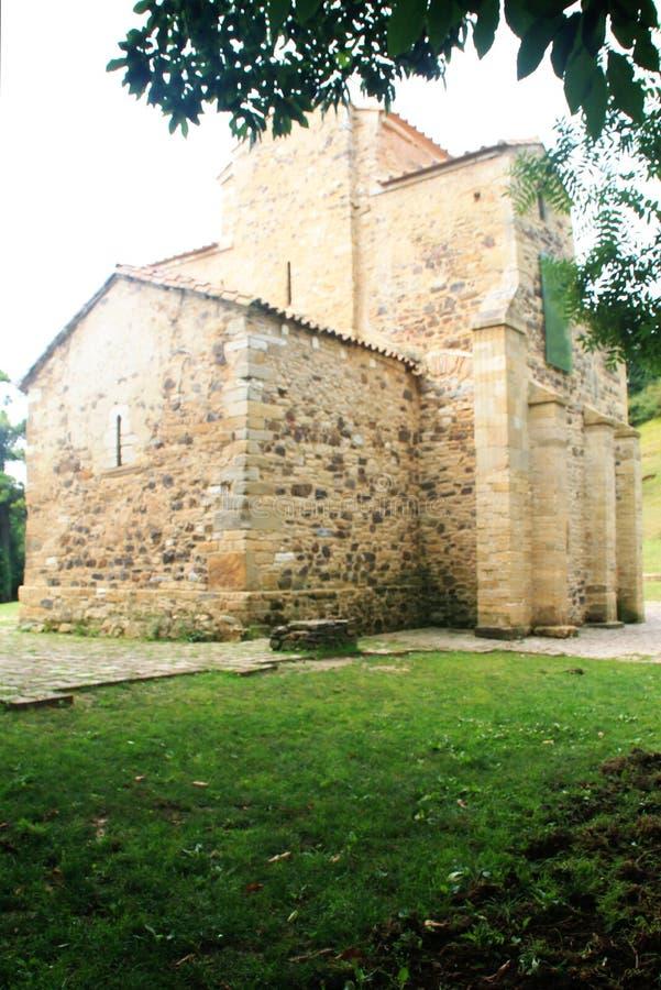 San Miguel de Lillo, Oviedo, Spanien stockfotografie